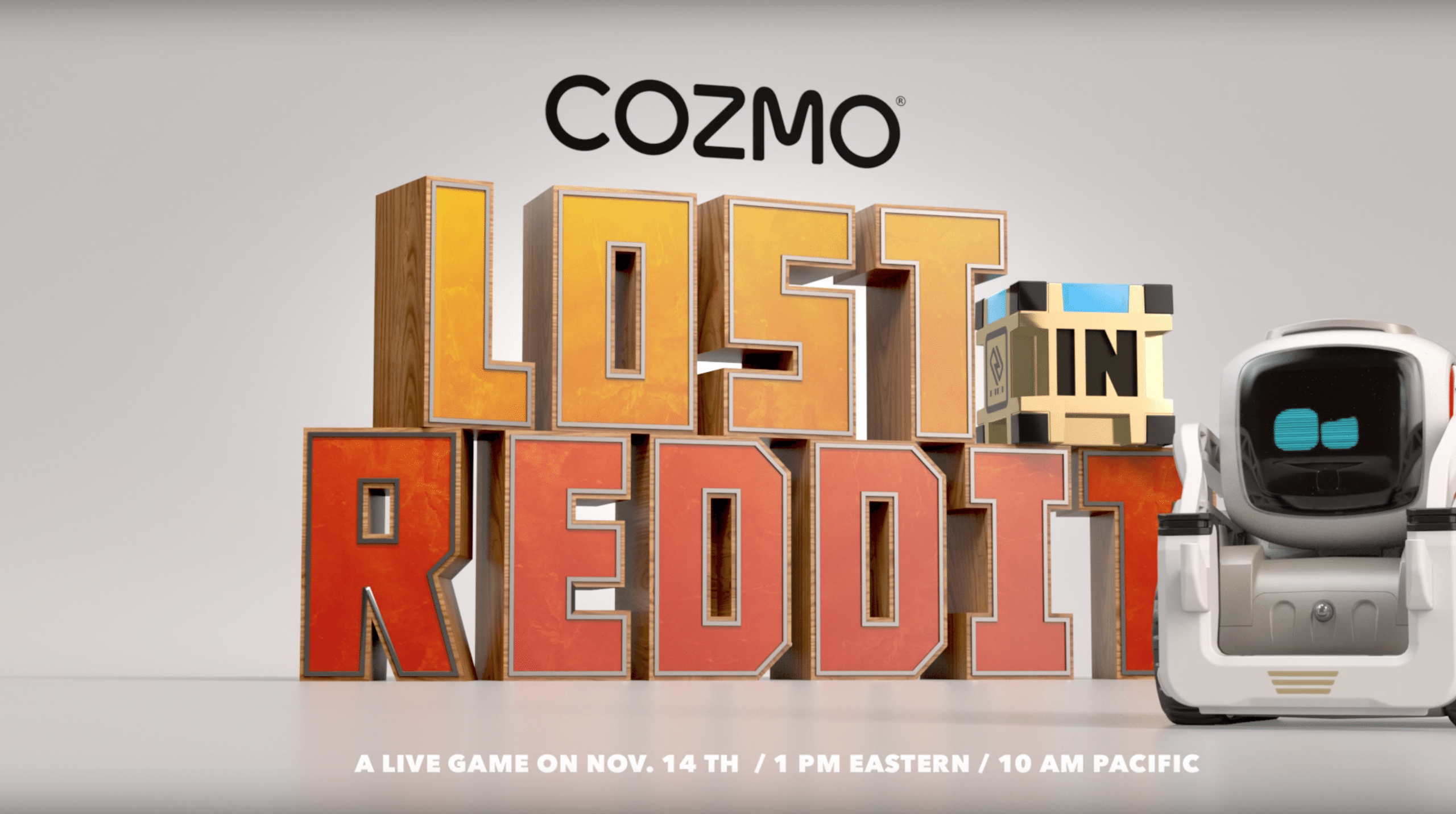Anki - Cozmo's Lost /// {custom - Cover}